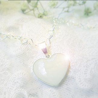 Colgante Corazón - Joyas Maternales - Joyas Leche Materna Recuerdos
