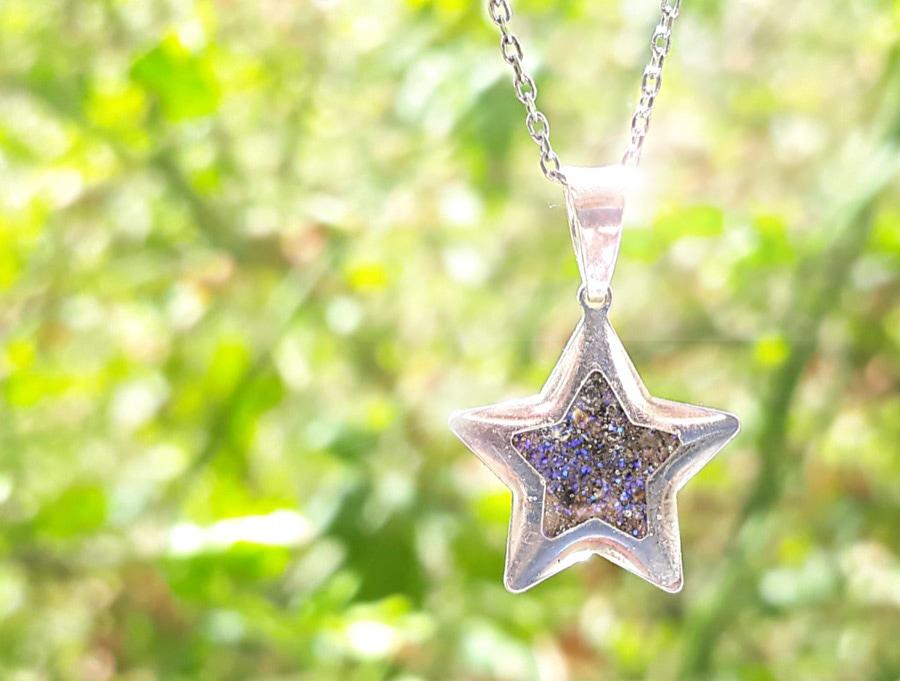Colgante Estrella Cenizas